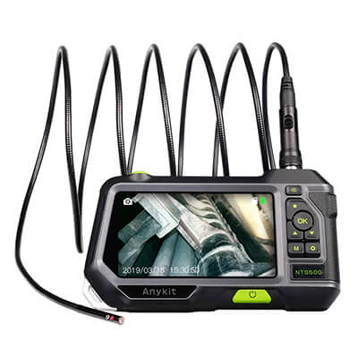 Anykit NTS500 Dual Lens Borescope Inspection Camera