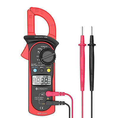 Etekcity Auto Ranging Clamp Meter