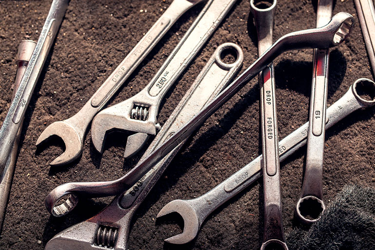 wrench spanner monkey wrench screw wrench